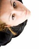 смотреть вверх женщину Стоковые Фотографии RF