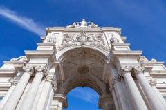Смотреть вверх на своде иконической улицы Augusta триумфальном Стоковые Фото