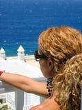 смотреть вне море Стоковое фото RF