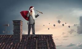 Смотреть вперед для рождества Мультимедиа Стоковое Фото
