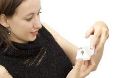 смотреть женщин кольца Стоковые Изображения RF