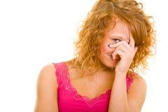 смотреть застенчивое предназначенное для подростков Стоковое Изображение RF