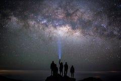 Смотреть звезды Стоковые Фотографии RF