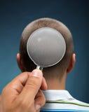Смотреть к голове Стоковое фото RF