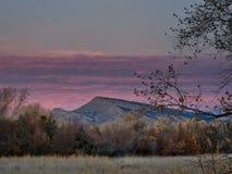 Смотреть к Юте на восходе солнца стоковое изображение rf