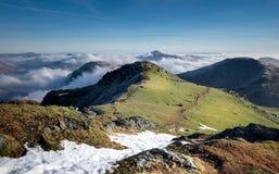 Смотреть к Loch Lomond от Бен Ime Стоковое Изображение RF