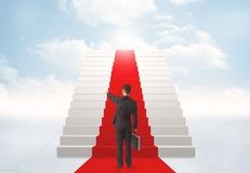Смотреть лестницы к раю Стоковое фото RF