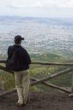 смотреть людей панорамы Стоковое Фото