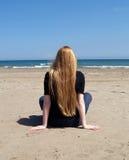 смотреть море Стоковая Фотография