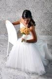 смотреть невесты букета стоковое фото