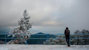 Смотреть солнечную Ялту Ai-Petri, Крым Стоковые Изображения