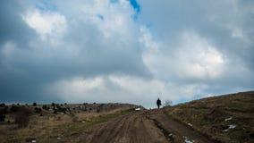 Смотреть солнечную Ялту Ai-Petri, Крым Стоковая Фотография RF