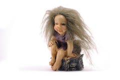 смотреть старую женщину скульптуры Стоковое фото RF