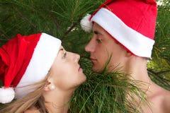 смотреть шлемов пар рождества Стоковые Фотографии RF