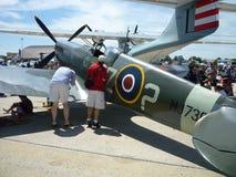 смотреть spitfire стоковое фото rf
