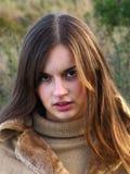 смотрите на женщину Стоковая Фотография