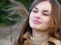 смотрите на женщину Стоковые Фото