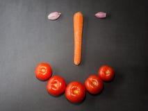 смотрите на смешные овощи стоковая фотография rf