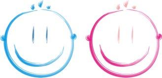 смотрит на счастливое Стоковые Фотографии RF