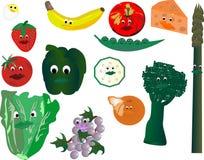 смотрит на сь на veggie Стоковое Изображение RF