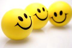 смотрит на smiley Стоковые Фотографии RF
