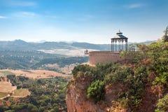 �мо��ова� пло�адка in Ronda, Malaga Province, A Stock Photo