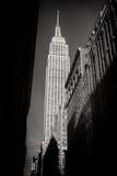 Смотрящ вверх на Эмпайре Стейте Билдинге, Нью-Йорк Стоковое Изображение RF