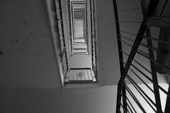смотрящ лестницы вверх Стоковое фото RF