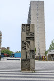 Смущая памятник стоковое изображение rf
