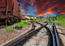 Смущая railway Стоковая Фотография