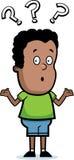 смущенный мальчик Стоковое Изображение RF