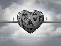 Смущенный о влюбленности иллюстрация штока