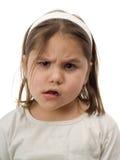 смущенный ребенок Стоковая Фотография