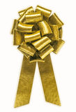 смычок золотистый стоковые изображения rf