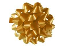 смычок золотистый Стоковая Фотография RF