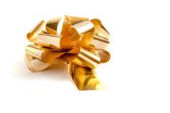 Смычок золота Стоковое Изображение RF
