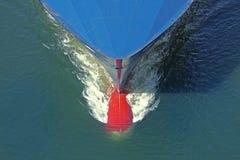 Смычок промышленного корабля Стоковое фото RF