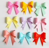 Смычок Origami Стоковое фото RF