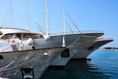 Смычок touristic кораблей Стоковая Фотография RF