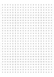 См миллиметровки 1 решетки точки бумажное на белом векторе предпосылки бесплатная иллюстрация