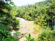 См. реку от высоты стоковое фото rf