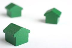 снабжение жилищем дома имущества принципиальной схемы реальное Стоковое Изображение