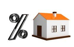 снабжение жилищем кредита Стоковые Фотографии RF