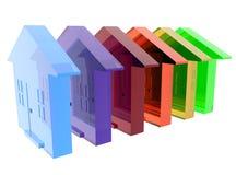 снабжение жилищем разнообразности Стоковая Фотография RF