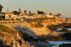снабжение жилищем скалы california стоковое изображение