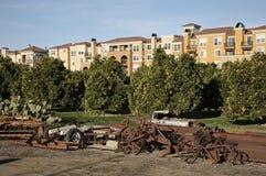 снабжение жилищем Silicon Valley Стоковое Фото