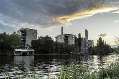 Снабжение жилищем Берлина Стоковые Фото