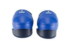 Снабженное подкладкой колено на белой предпосылке Стоковая Фотография RF