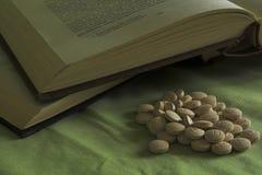 снадобья книг Стоковые Изображения RF