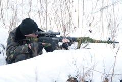 снайпер Стоковое Фото